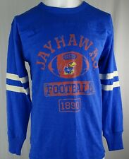 Kansas Jayhawks NCAA Fanatics '1890' Football Men's Long Sleeve Shirt