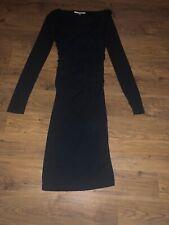 Stunning Black Wiggle Dress From Lk Bennett Size 6 Xmas Party
