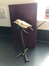 More details for albany worcester royal worcester warbler bird bronze mount asprey box freepostuk
