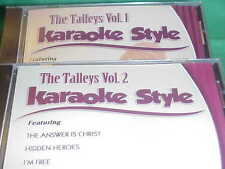 The Talleys #1 & 2 Christian Daywind Karaoke Style ~ I Know a Man Who Can ~ CD+G