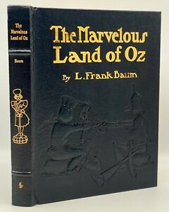 Easton Press THE MARVELOUS LAND of OZ Wizard Collectors EMBOSSED LEATHER Edition