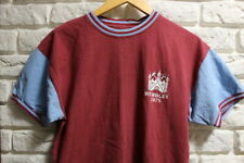 OFFICIAL RETRO KIT WEST HAM UNITED 1975 WEMBLEY OLDSCHOOL SHIRT JERSEY SIZE (S)
