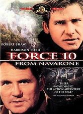 Force 10 From Navarone (DVD) Robert Shaw Harrison Ford Barbara Bach BRAND NEW!