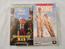 2 Danny DeVito Movies On 2 VHS Tapes :Renaissance Man/ Twins