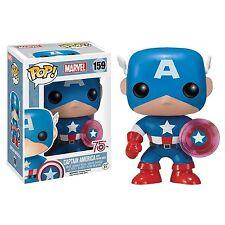 Captain America Photon Shield 75th Exclusive POP! Marvel #159 Vinyl Figur Funko