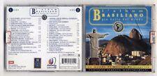 2 Cd L'ALBUM BRASILIANO PIU' BELLO DEL MONDO - EMI 1999 Djavan Toquinho Jobim