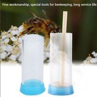 Plastic Queen Bee Marker Bottle Marking Cage Bottle Soft Plunger Beekeeper Equip
