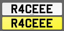 R40 EEE Cherished Reg Number Plate RACE PORSCHE AUDI RS4 RS6 RS LAMBO FAST LOW
