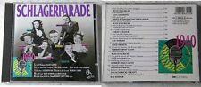 SCHLAGERPARADE 1940 Rudi Schuricke, Lizzi Waldmüller, Rühmann,... EMI CD TOP