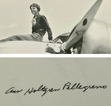 More details for ann pellegreno - amelia earhart - hand signed photograph