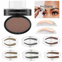 NEW Eyebrow Powder Makeup Brow Stamp Palette Delicated Shadow Definition