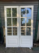 Bespoke Handmade Hardwood Wooden French Doors