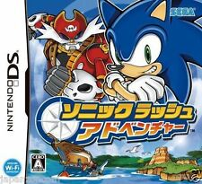 Used DS Sega Sonic Rush Adventure NINTENDO JAPANESE IMPORT