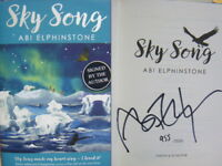 Signed Book Sky Song by Abi Elphinstone Hdbk 2018 Numbered Limited Edition