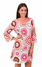 Cotton Geometric Regular Size Tops for Women