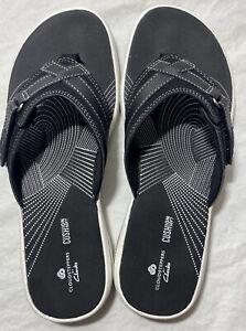 Cloudstepper Flip Flop Sandals by Clarks BREEZE SEA 25505 BLACK