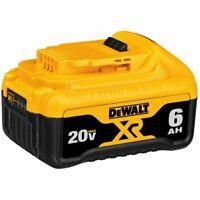 Genuine Dewalt DCB186 / DCB206 20V XR 18V XR 6Ah Slide Battery 3Years Warranty