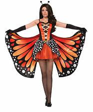 Adult Miss Monarch Orange Butterfly Costume Standard