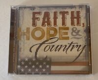 Faith Hope Country God Bless America 2 Disc CD Time Life 2016 New Sealed Cash