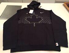 2017 World Juniors Championship Team Canada Black Player Hoodie Sweatshirt XL