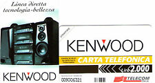 NUOVA MAGNETIZZATA GOLDEN PR 261 (C&C 3353) KENWOOD STEREO DA 2.000 LIRE