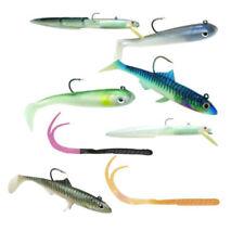 Appâts, leurres et mouches mers bleus flottants pour la pêche