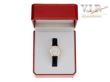 CARTIER ARCADE MONTRE UHR GOLDUHR DAMENUHR 18K/750 SOLID GOLD WATCH VINTAGE++BOX