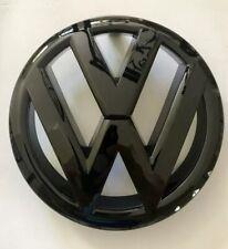 VW Golf GTI TSI TDI Front Grill Emblem Badge Gloss Black - 5K0853601F ULM