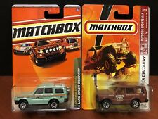 Matchbox Land Rover Discovery #81 & #96 Lot Of 2 EM2390