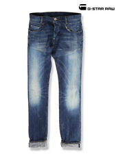 G STAR RE New Radar Tapered Destroy Mens Jeans Blue 30W 32L *REF9-15