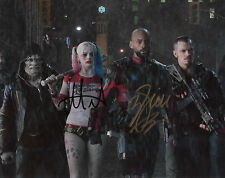 MARGOT ROBBIE & WILL SMITH Suicide Squad Signed 8x10 Autographed Photo Reprint