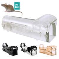Piège à Rats Cage Argente Petits Animaux Rongeur Souris Contrôle Appâts Capture