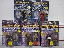 Set of (5) Vintage Playmates Star Trek Deep Space Nine Action Figures MOC