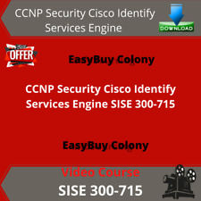 CCNP Security Cisco Identity Services Engine SISE 300-715 Video Training