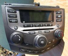 New listing 2003-2007 Honda Accord Bezel Radio Ac 6-Disc Cd Changer Dash Unit Oem 39175