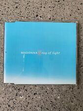 MADONNA Ultra Rare Ray Of Light Promo UK CD Blue Cover PRCD1142