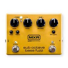 MXR Sub Octave Bass Fuzz FX Pedal