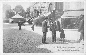 CPA 75 PARIS LES PETITS METIERS PARISIENS LE MARCHAND DE PLAISIR