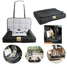 Large Soft Pet Dog Car Seat Bed Foldable Carrier Basket Booster with Safety Clip