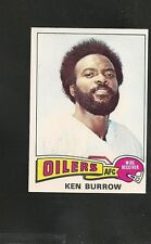 1975 Topps # 413 Ken Burrow NM-MT