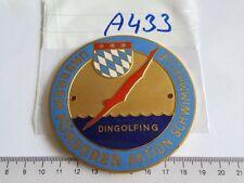 Medaille Plakette Dingolfing Unserem Förderer Aktion Schimmhalle (A433-)