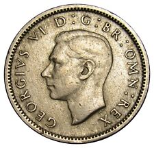 Great Britain 6 Pence coin 1947 km#862 George VI (a1)