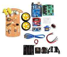 2 Wheels Ultrasonic Smart Car Tracking Motor Smart Robot Car Chassis Kit Arduino