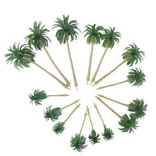 15Pcs 5 Size Model Tree Scenery Model Coconut Palm Trees HO O N Z Scale 160∼70mm