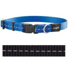 Rogz for dogs nitelife halsband zwart