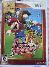 Mario Super Sluggers NINTENDO SELECT Complete CIB GREAT SHAPE!!   Free Shipping!