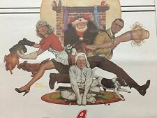 A Christmas Story Original Movie Theatre Poster 1983 Red Ryder Classic Rare Cave