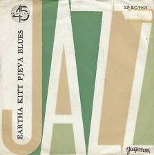 "EARTHA KITT ST. LOUIS BLUES / THE MEMPHIS BLUES RECORD YUGOSLAVIA 7"" PS"