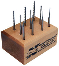Kodiak USA Ball End Micro Carbide End Mill Set .010-.100, 12Xs Dia Length of Cut