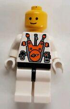 Lego Astronaut Minifigure - Helmet Missing